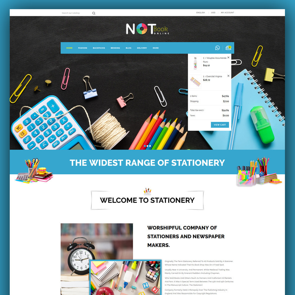 theme - Искусство и Культура - Notebook - Stationary Store - 3