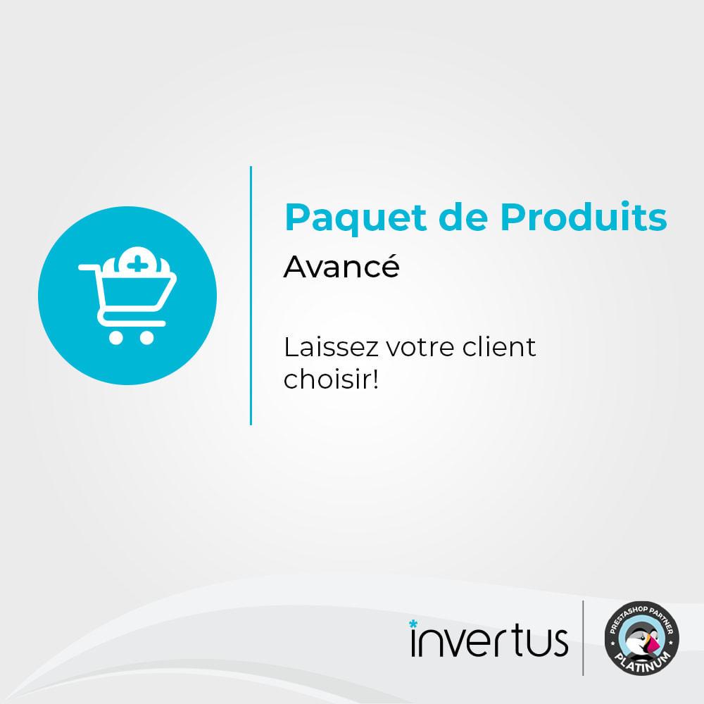 module - Ventes croisées & Packs de produits - Paquet de produits avancé - 1