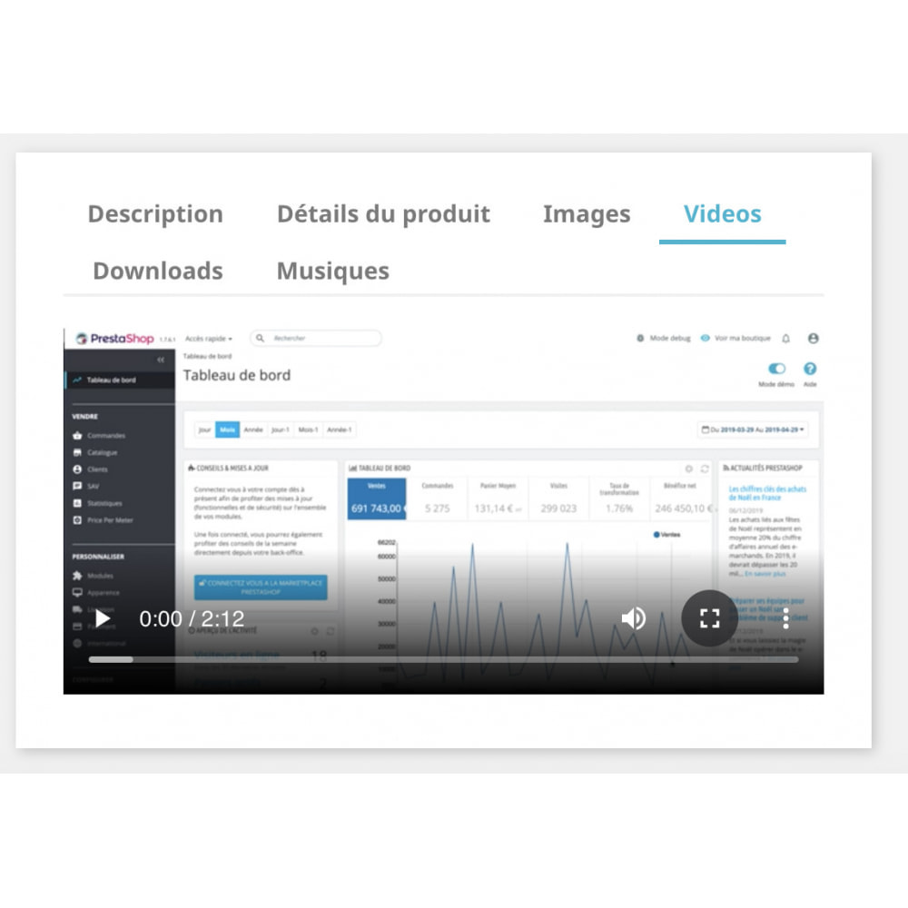 module - Wideo & Muzyka - Upload Media Uploader - Video, Images, Files and Music - 2