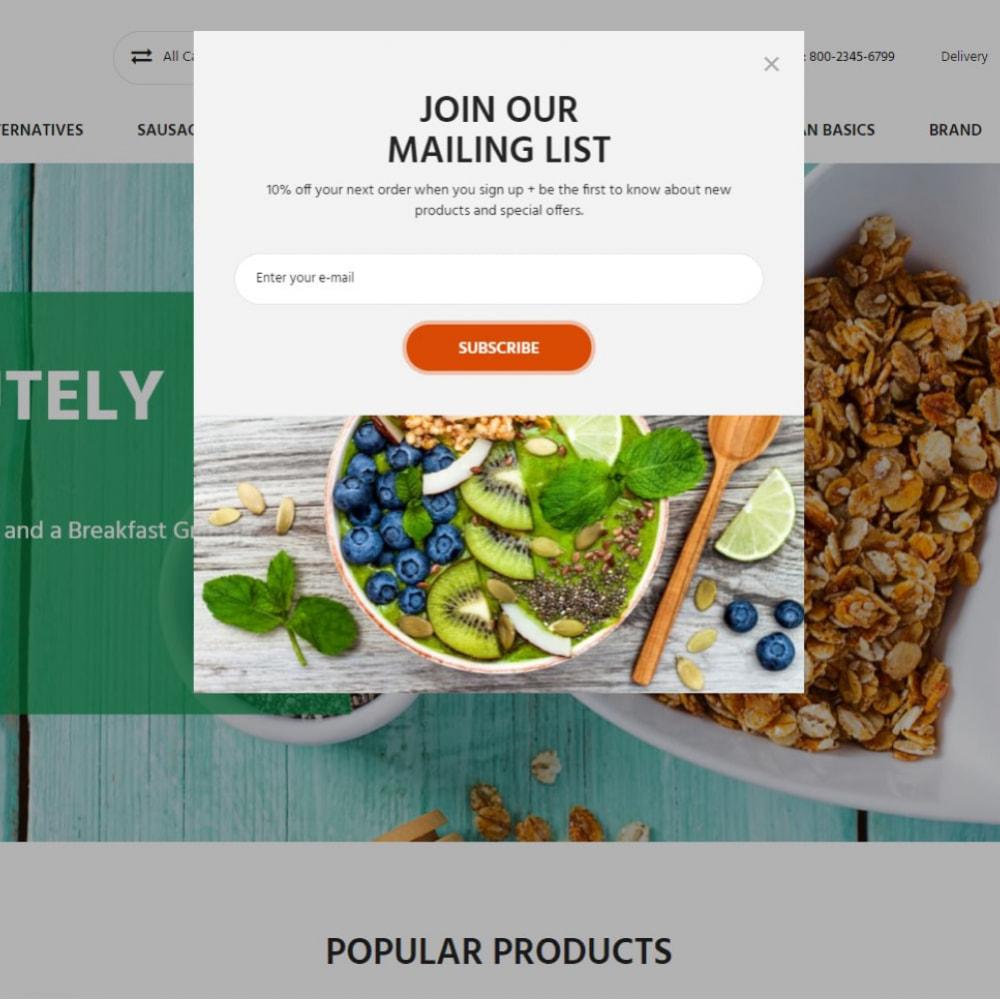 theme - Alimentation & Restauration - Almonds - Vegan Shop - 4