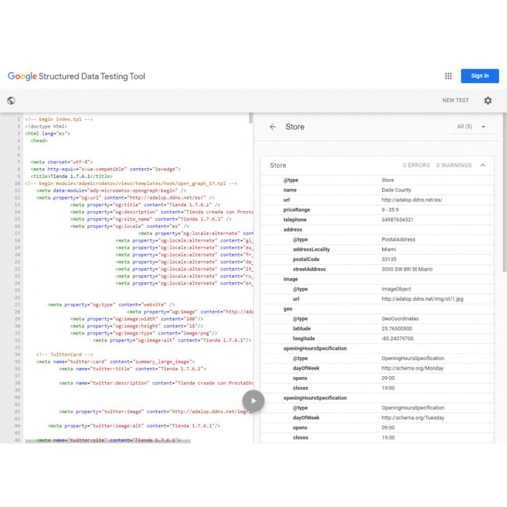 module - Естественная поисковая оптимизация - интеграция JSON-LD MICRODATA и OPEN GRAPH - SEO - 16