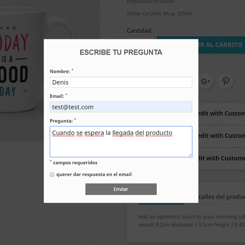 module - Preguntas Frecuentes - Pregunta respuesta en producto - 3