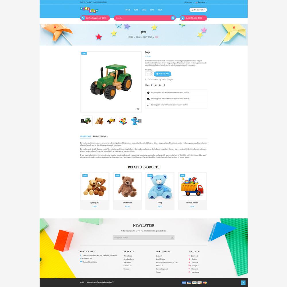 theme - Bambini & Giocattoli - Negozio per bambini - 4