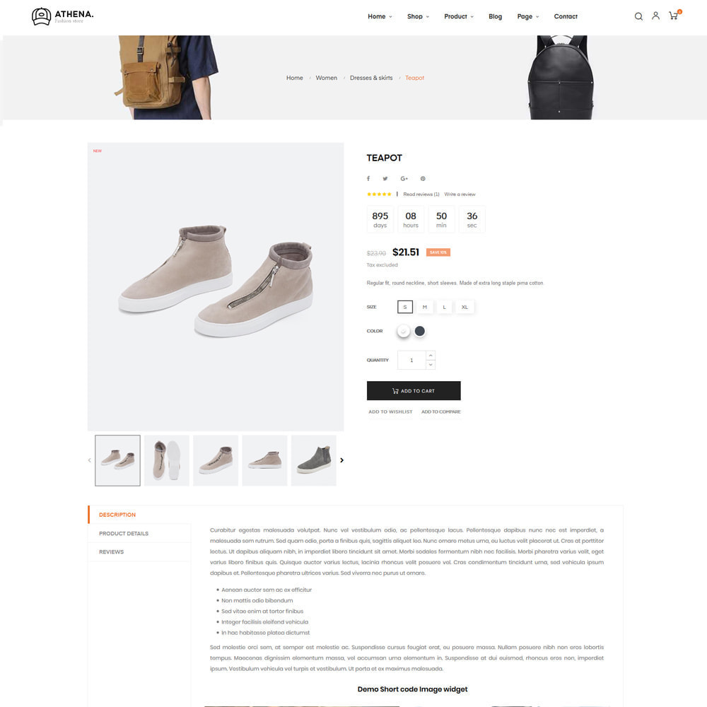 theme - Mode & Schoenen - Athena Fashion store - 11