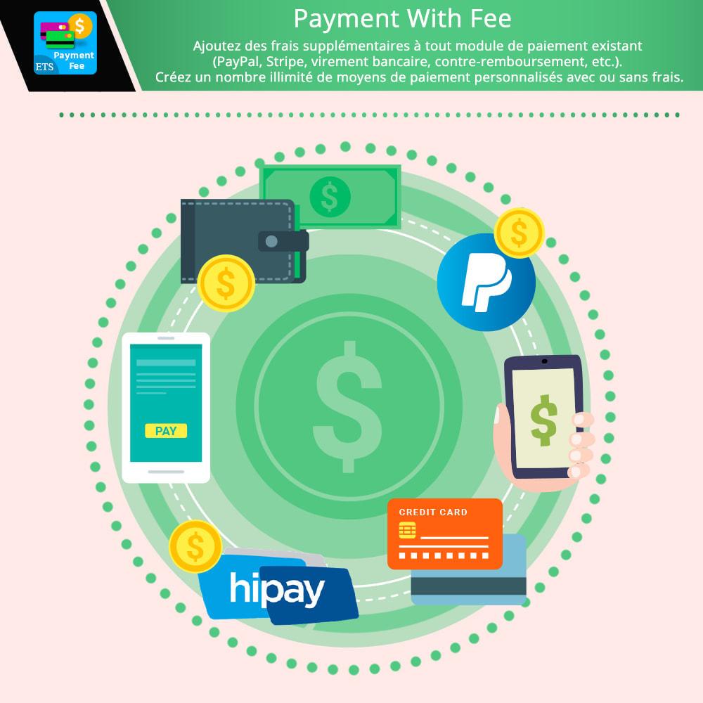 module - Autres moyens de paiement - Payment With Fee : PayPal, Stripe, virement, etc. - 1