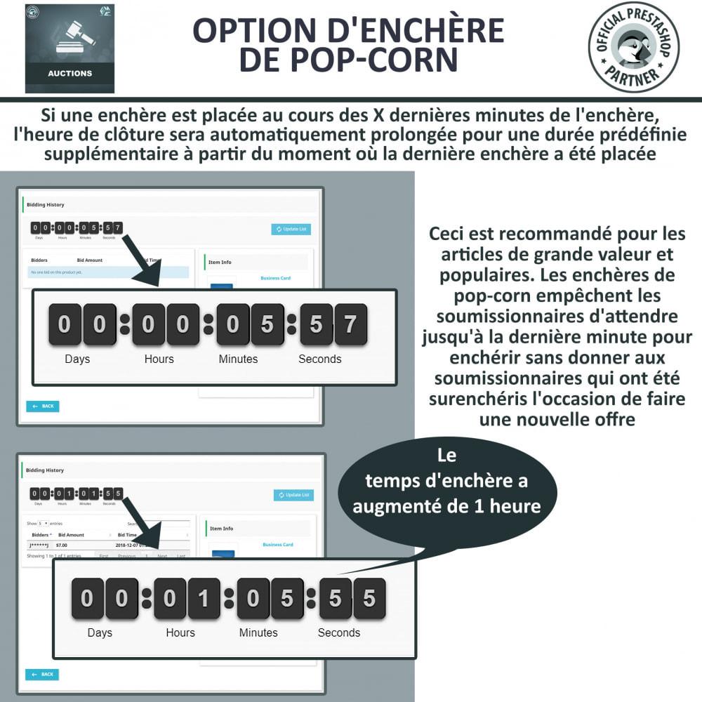 module - Site d'enchères - Enchères Pro - Système d'enchères en ligne - 4