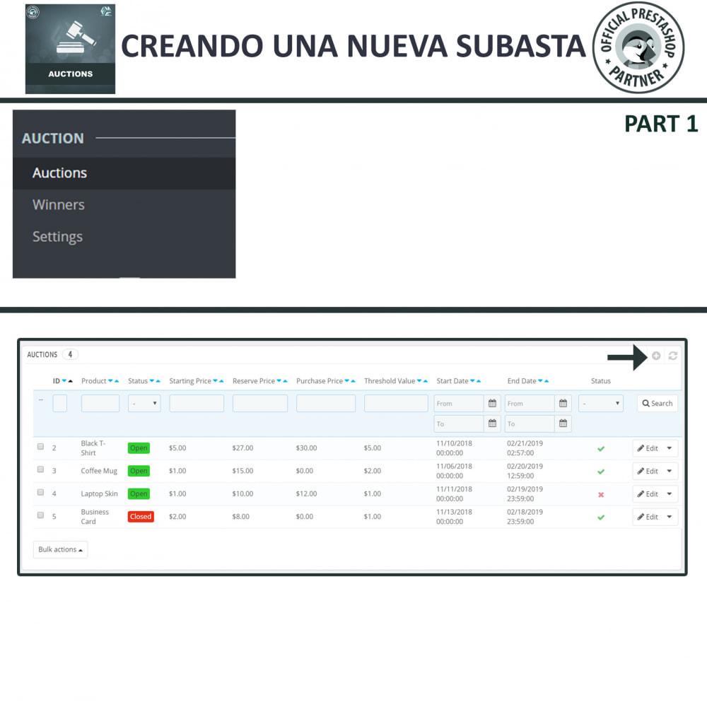 module - Web de Subastas - Subasta Pro - Subastas en línea y oferta - 6