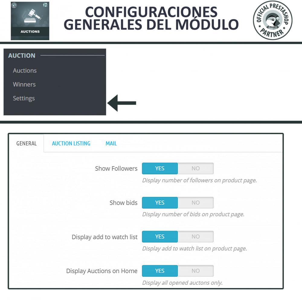 module - Web de Subastas - Subasta Pro - Subastas en línea y oferta - 12