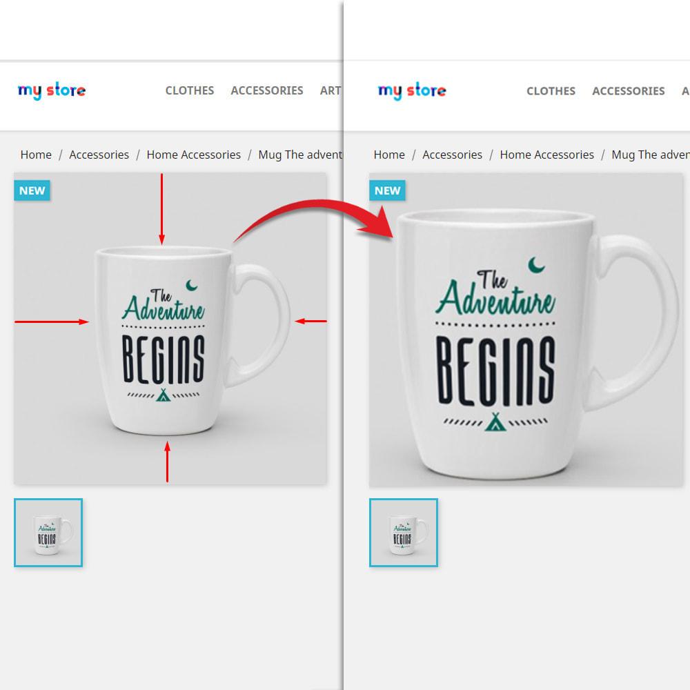 module - Fotos de productos - Cambiar el tamaño de fotos (Crop) - 2