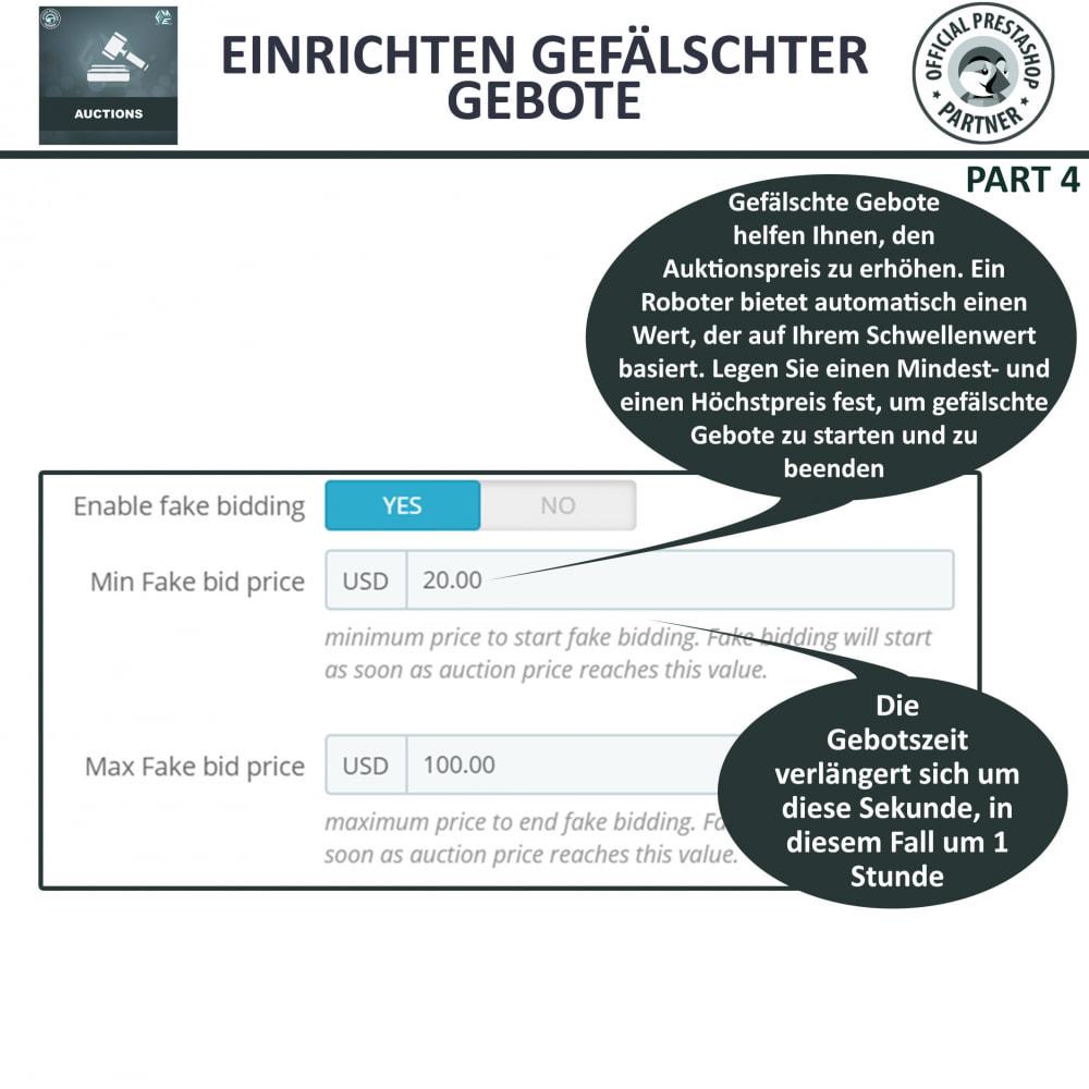 module - Auktionsseiten - Auktion Pro, Online-Auktions und Gebotsmanagement - 9