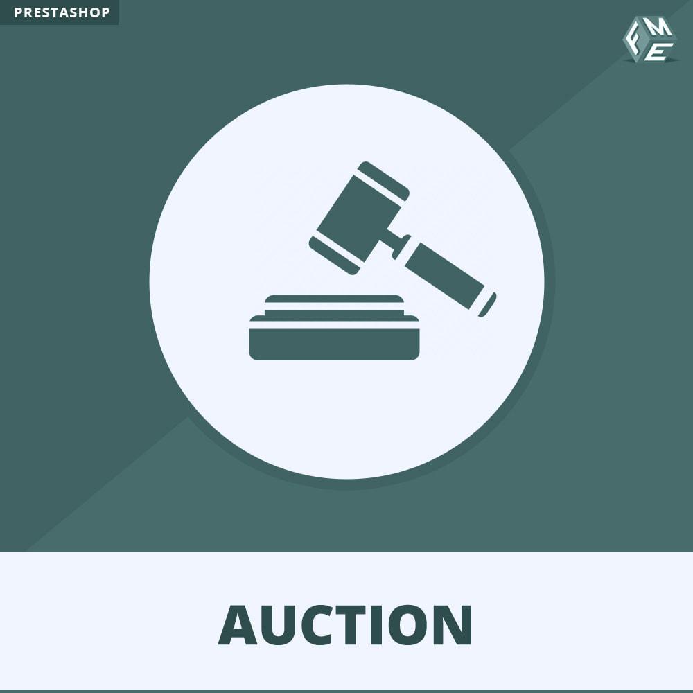module - Bouw een veilingsite - Auction Pro, Online veilingen en biedingen - 1