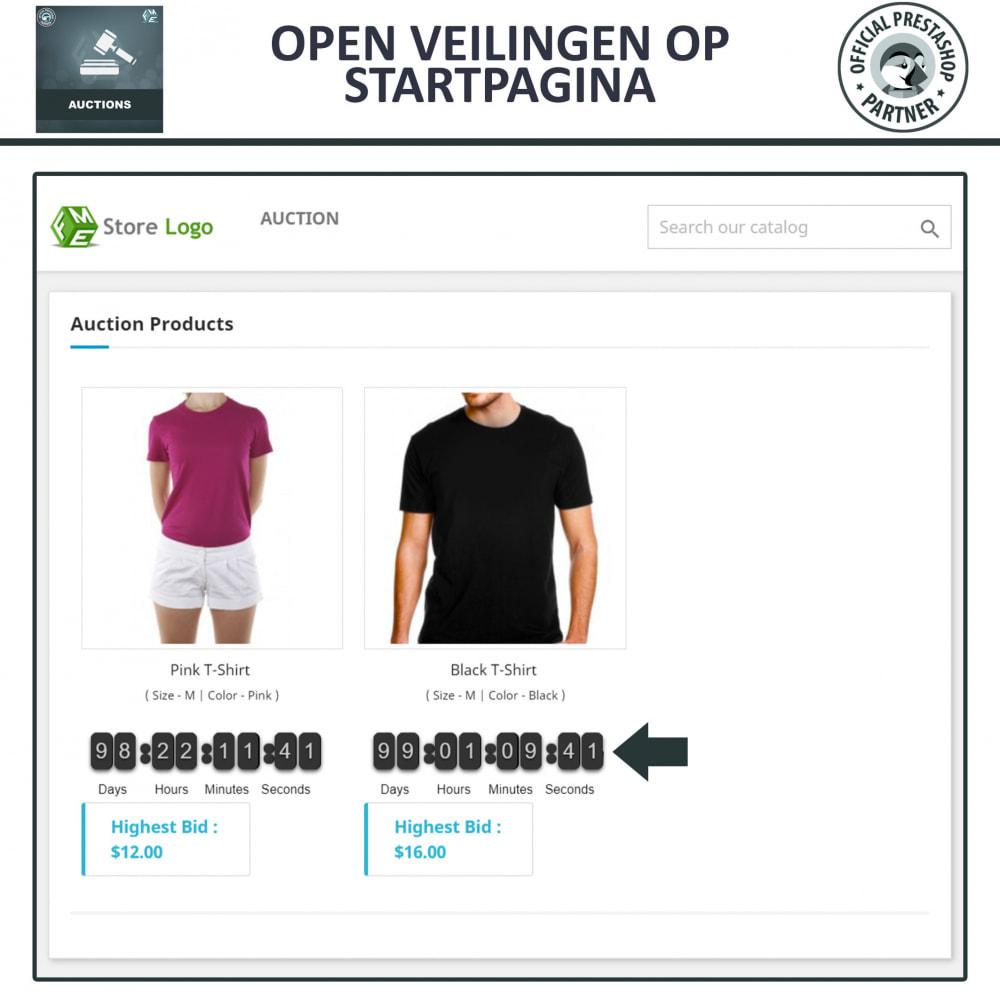 module - Bouw een veilingsite - Auction Pro, Online veilingen en biedingen - 2