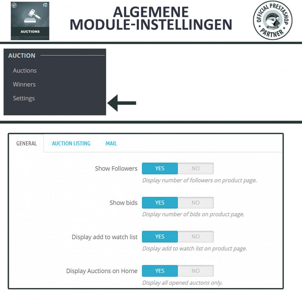 module - Bouw een veilingsite - Auction Pro, Online veilingen en biedingen - 17
