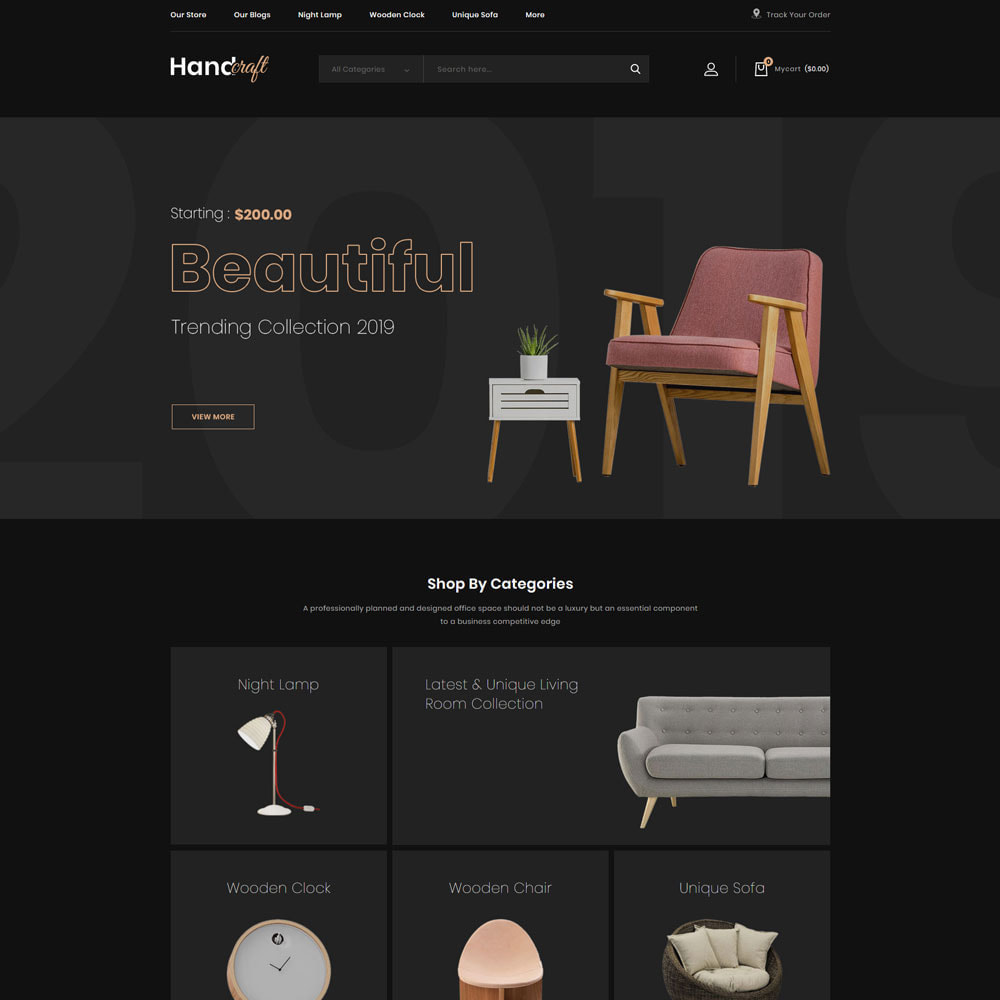 theme - Casa & Jardins - Handcraft - The Furniture Store - 3