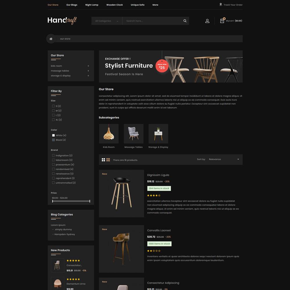 theme - Maison & Jardin - Handcraft - Le magasin de meubles - 6