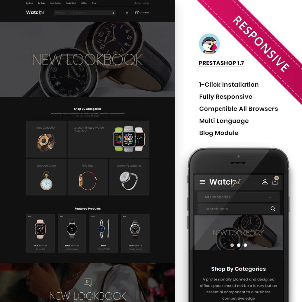 theme - Electronics & Computers - Watchjet - The Watch Store - 1