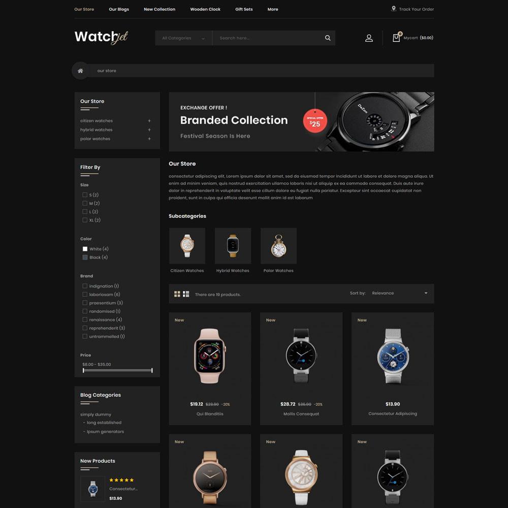 theme - Electrónica e High Tech - Watchjet - La tienda de relojes - 5