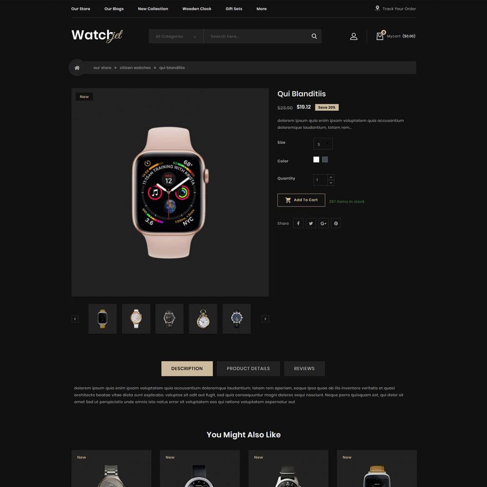 theme - Electrónica e High Tech - Watchjet - La tienda de relojes - 7