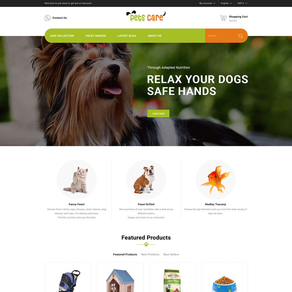 theme - Animaux - The Pet Store - Animaux de compagnie - 3