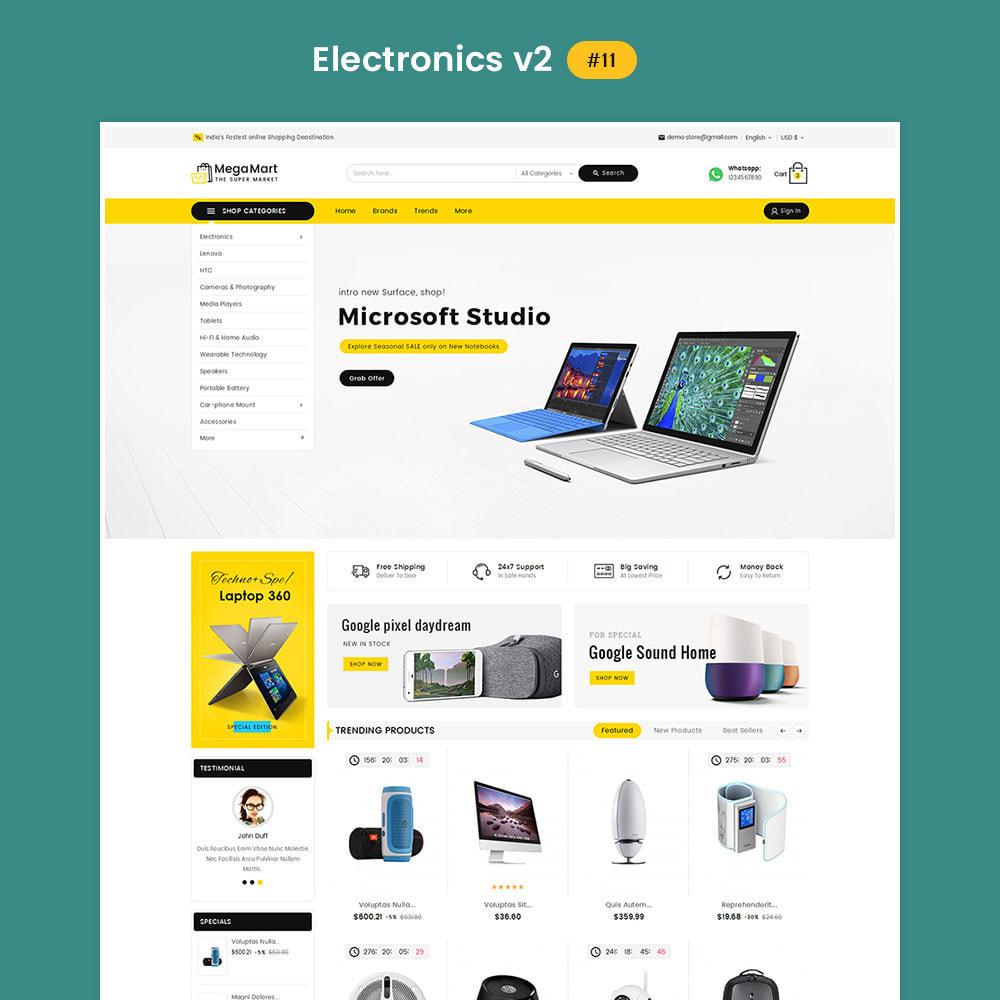 theme - Elektronica & High Tech - Mega Mart - Multi Purpose - 12