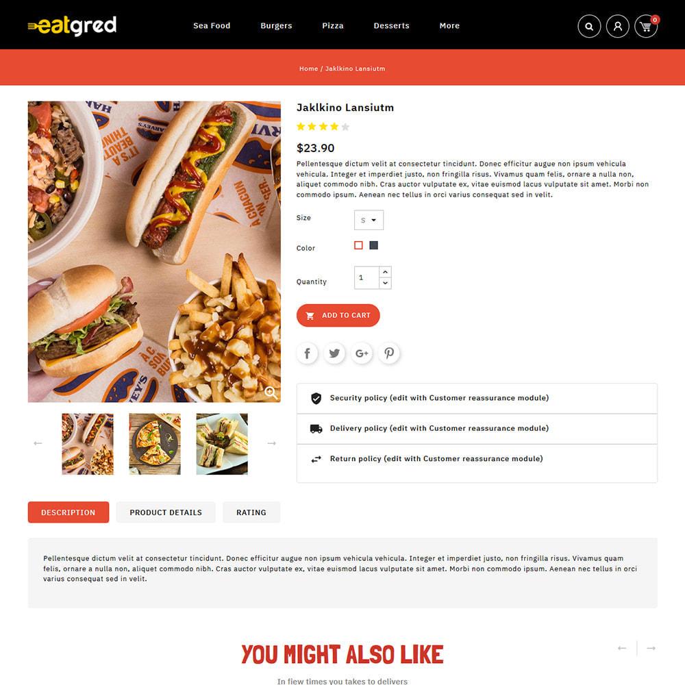 theme - Alimentos & Restaurantes - Eatgred - Food Store - 4