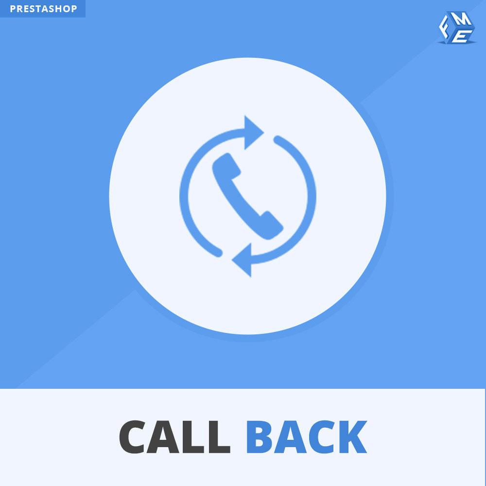 module - Supporto & Chat online - Call Back - Modulo di Richiamo Fisso e Mobile - 1