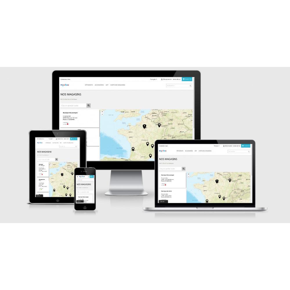module - Paczkomaty & Odbiór w sklepie - Pro Store locator SEO (no Google Maps) - 1