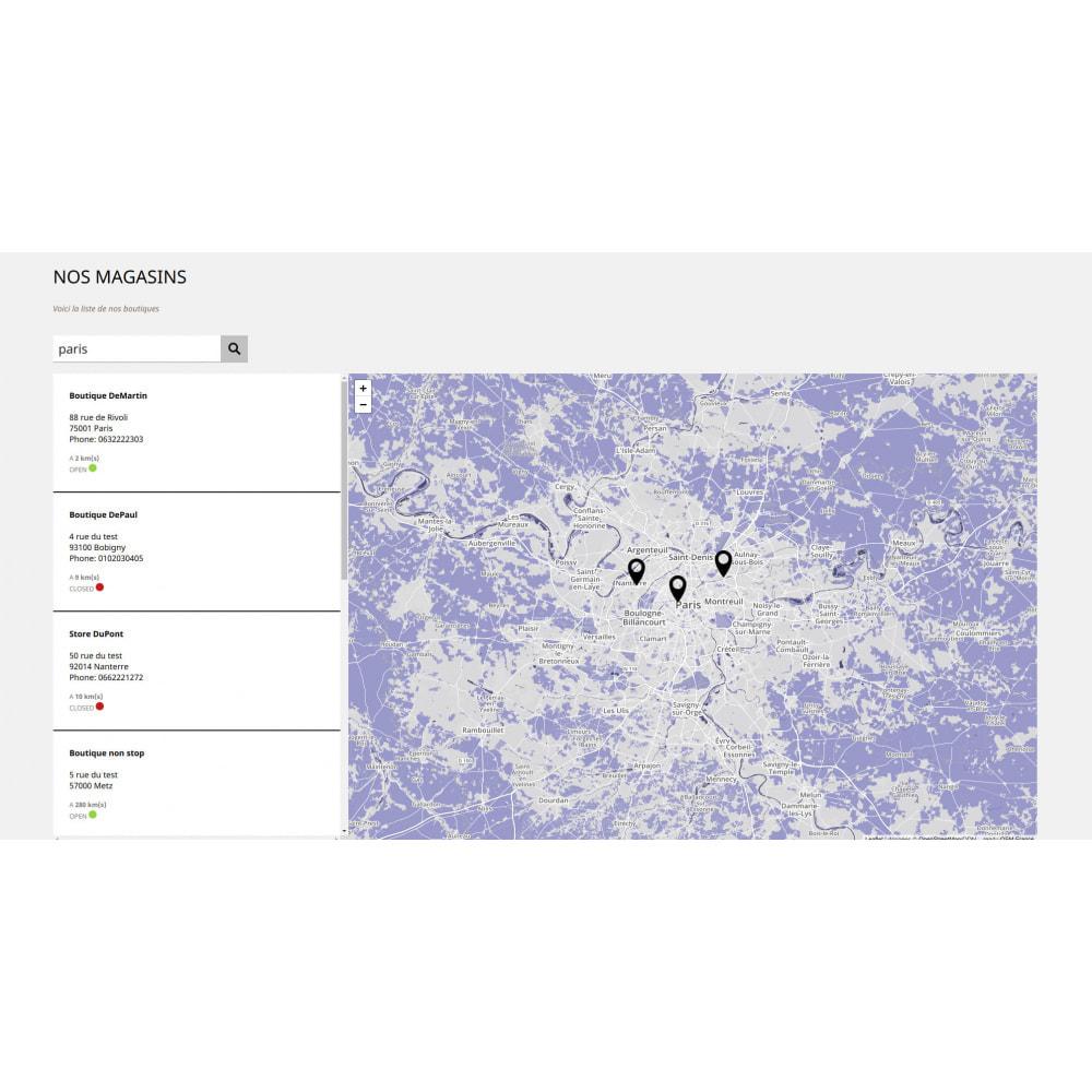module - Paczkomaty & Odbiór w sklepie - Pro Store locator SEO (no Google Maps) - 3