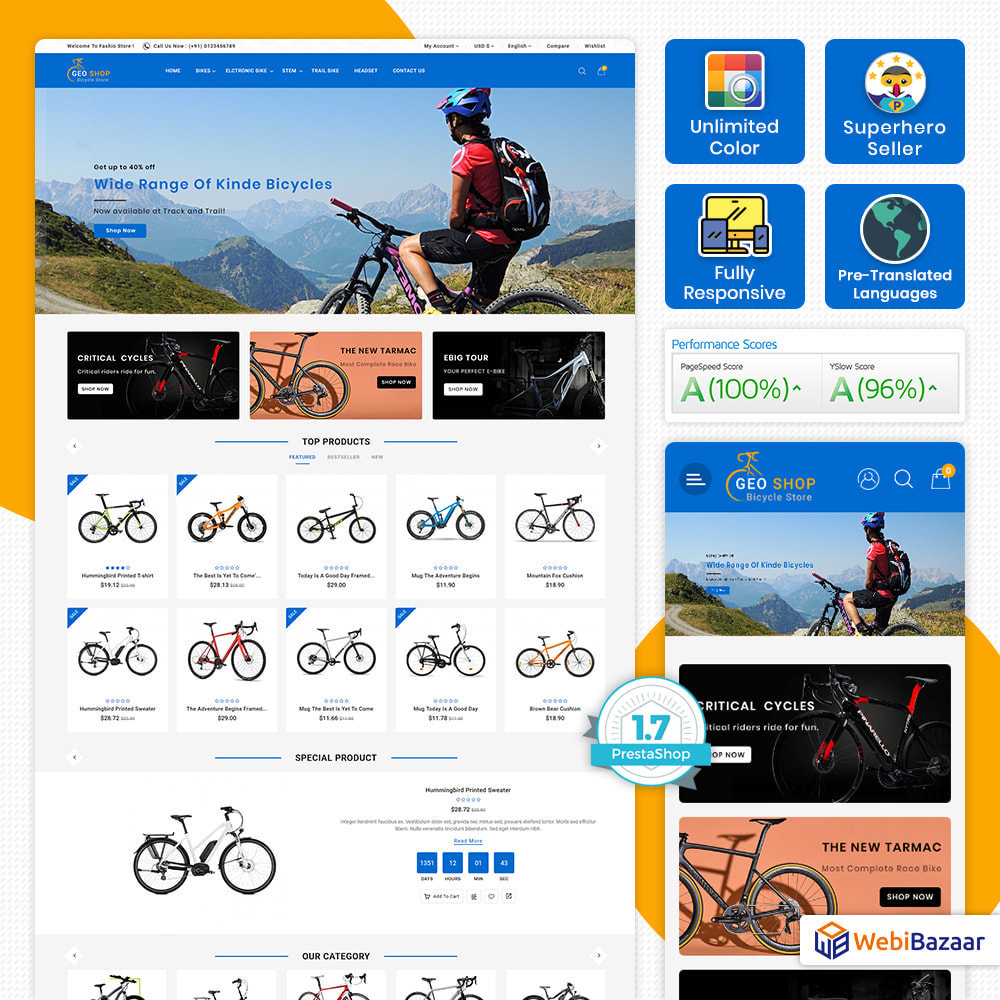 theme - Auto & Moto - GeoShop Store - 1