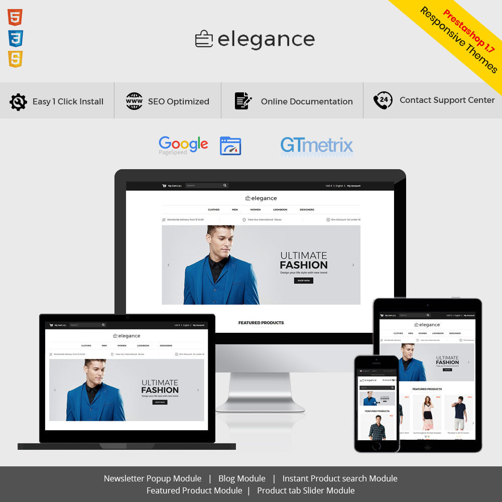 theme - Mode & Chaussures - Elegance Fashion - Designer Watch  Accessories Store - 1