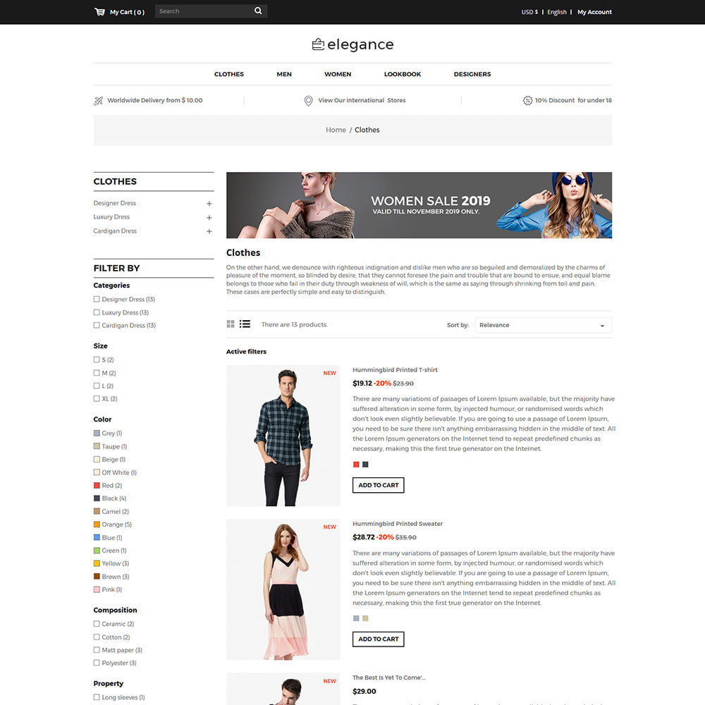 theme - Mode & Chaussures - Elegance Fashion - Designer Watch  Accessories Store - 4