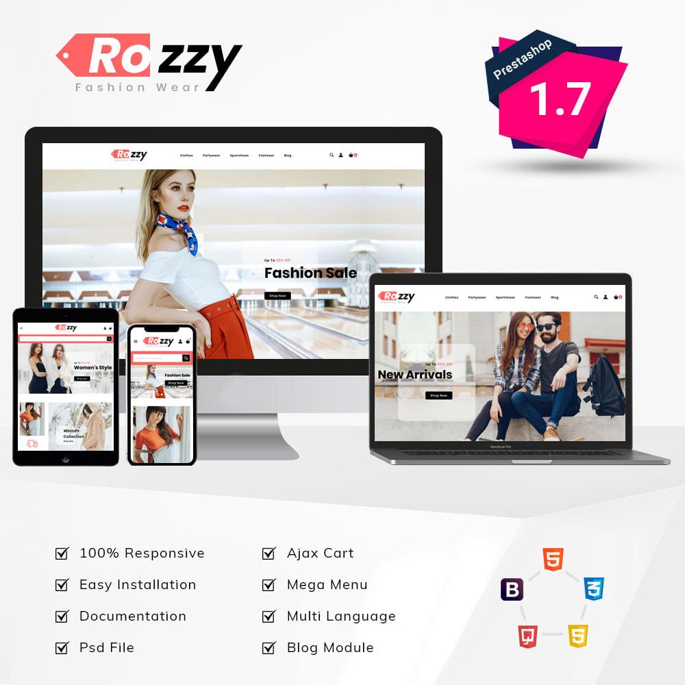 theme - Мода и обувь - Rozzy Fashion Store - 1