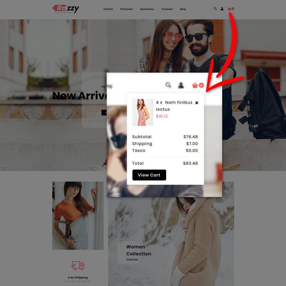theme - Мода и обувь - Rozzy Fashion Store - 6