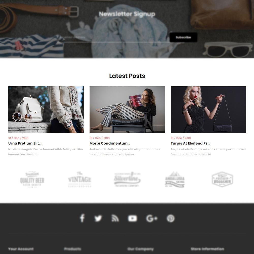 theme - Мода и обувь - Rozzy Fashion Store - 9
