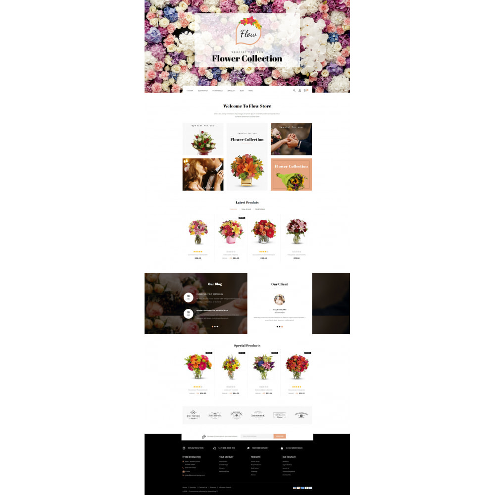 theme - Regali, Fiori & Feste - Flow - Flowers Store - 2