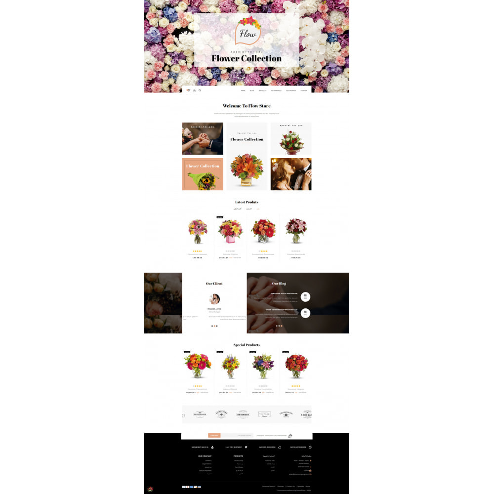 theme - Regali, Fiori & Feste - Flow - Flowers Store - 10