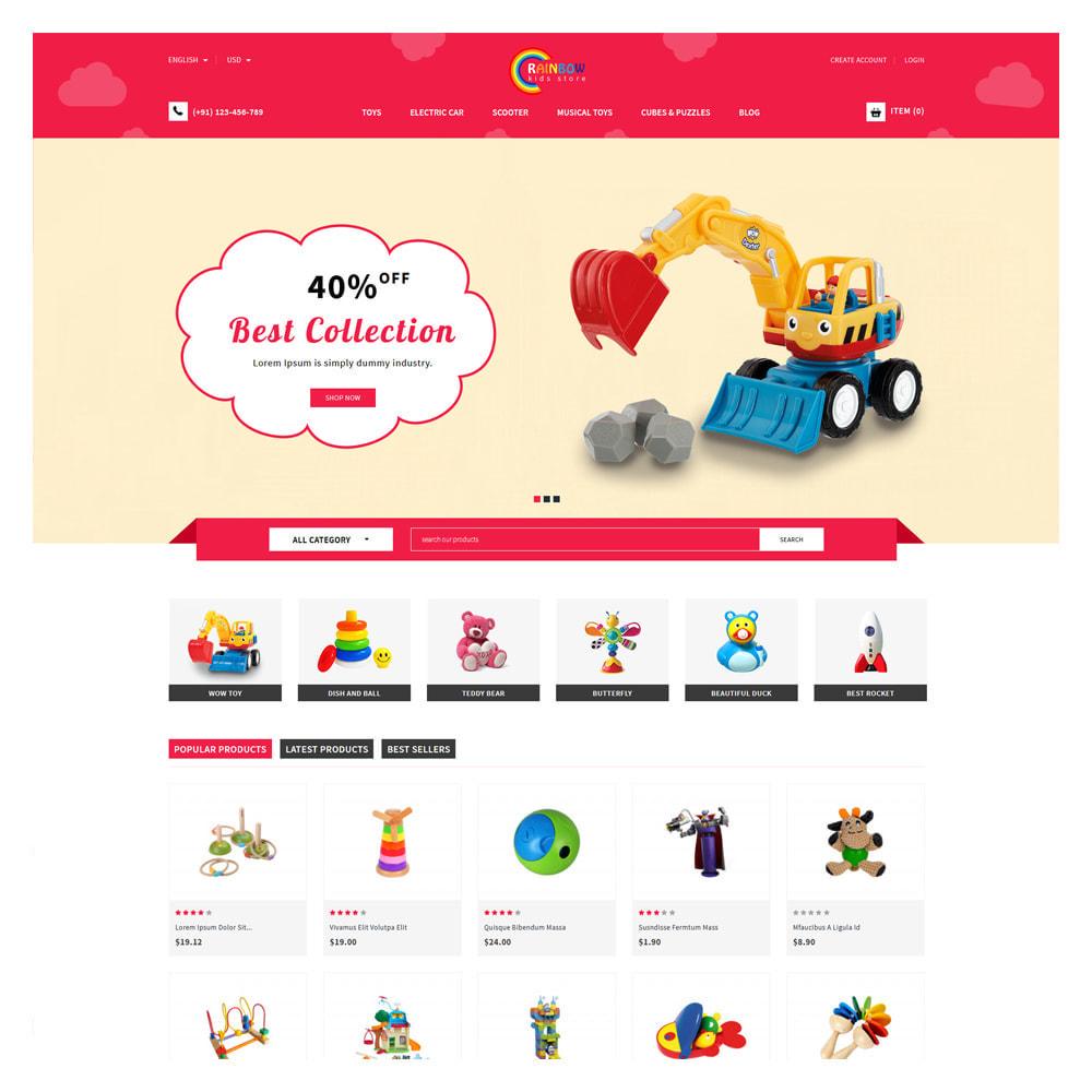 theme - Zabawki & Artykuły dziecięce - Rainbow Kids & Toys Store - 2