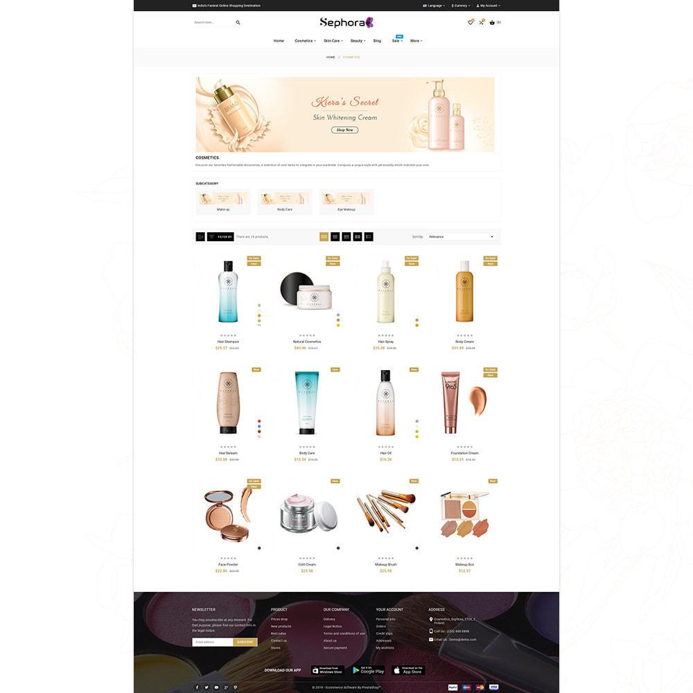 theme - Salud y Belleza - Sephora Bio–Cosmetic Mega Store - 12