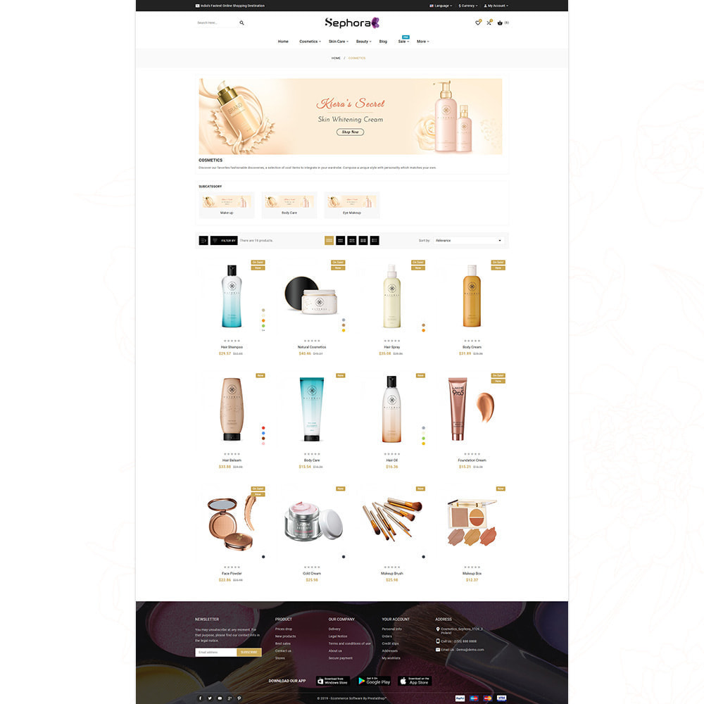 theme - Health & Beauty - Sephora Cosmetic Store - 12