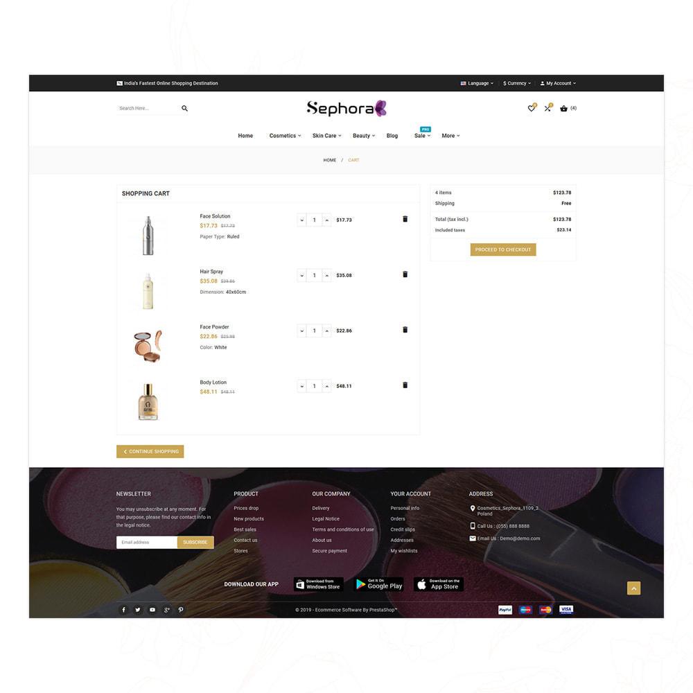 theme - Saúde & Beleza - Sephora Bio–Cosmetic Mega Store - 14