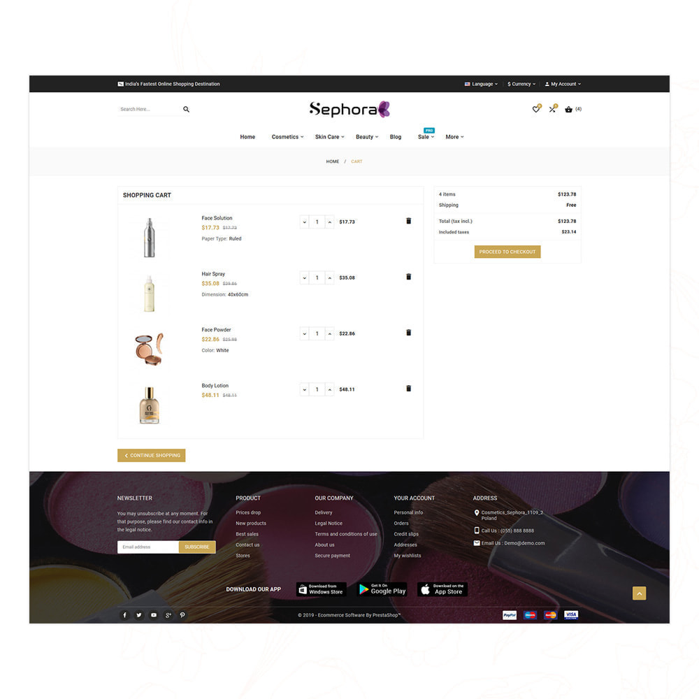 theme - Gezondheid & Schoonheid - Sephora Mega Bio–Cosmetics Health–Beauty Super Store - 15