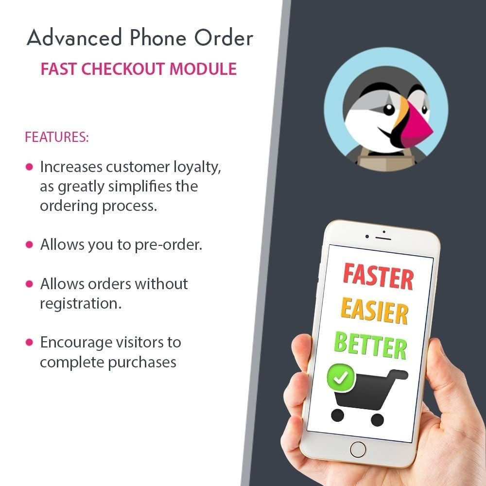 module - Inscripción y Proceso del pedido - Advanced Phone Order - Fast Checkout - 1