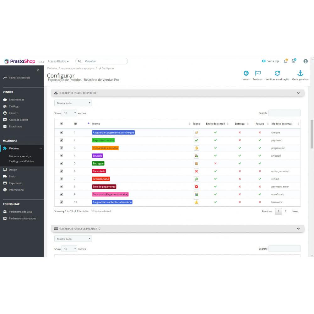 module - Importação & exportação de dados - Melhores Relatórios de Vendas e Exportações Contábeis - 3