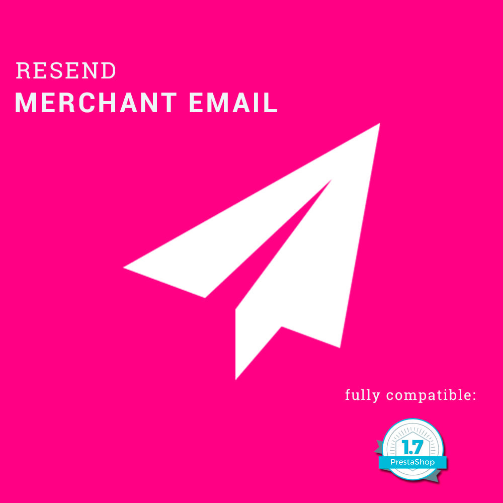 module - Emails & Notificaties - Resend merchant email - 1