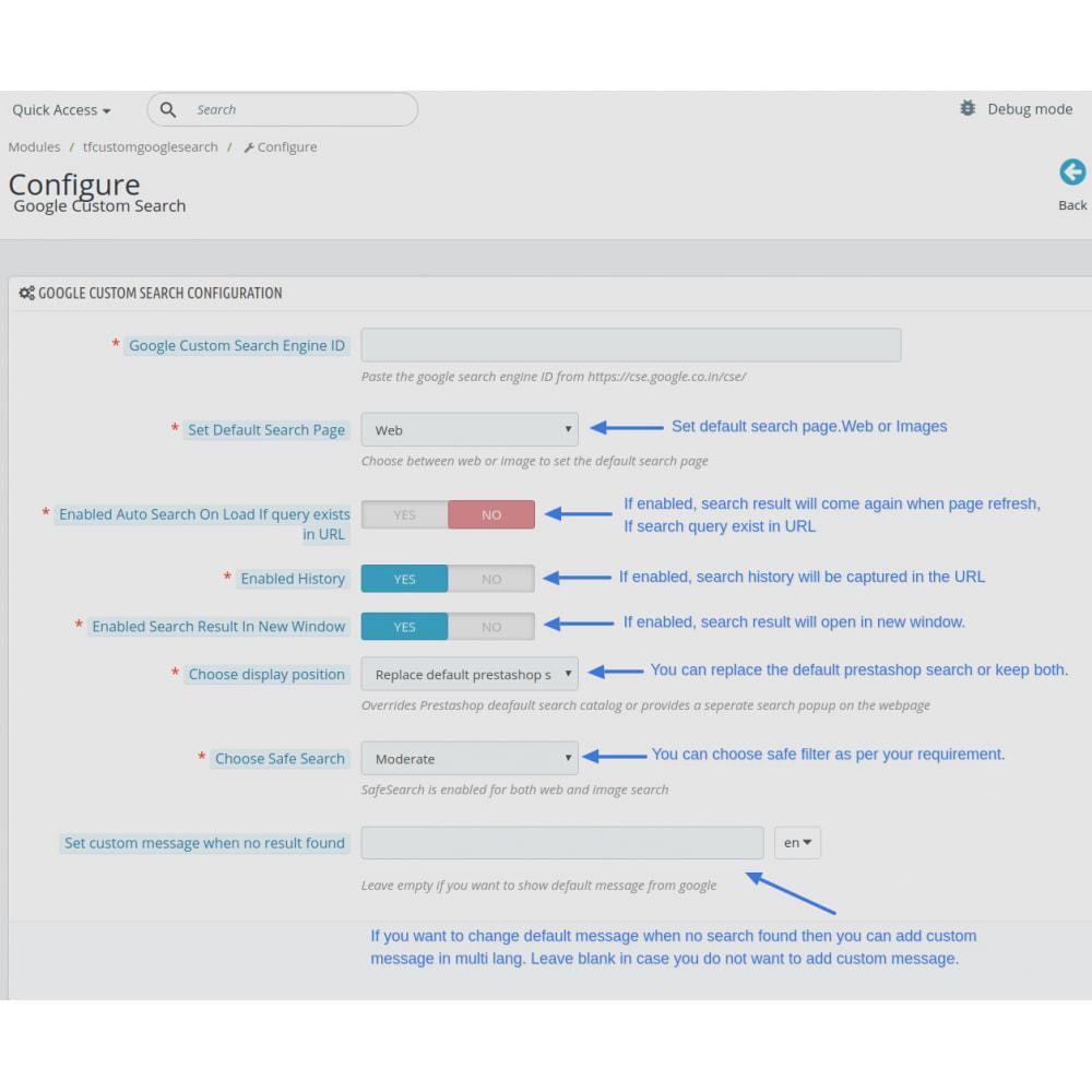 module - SEO (Indicizzazione naturale) - Google Custom Search Engine Pro - 3