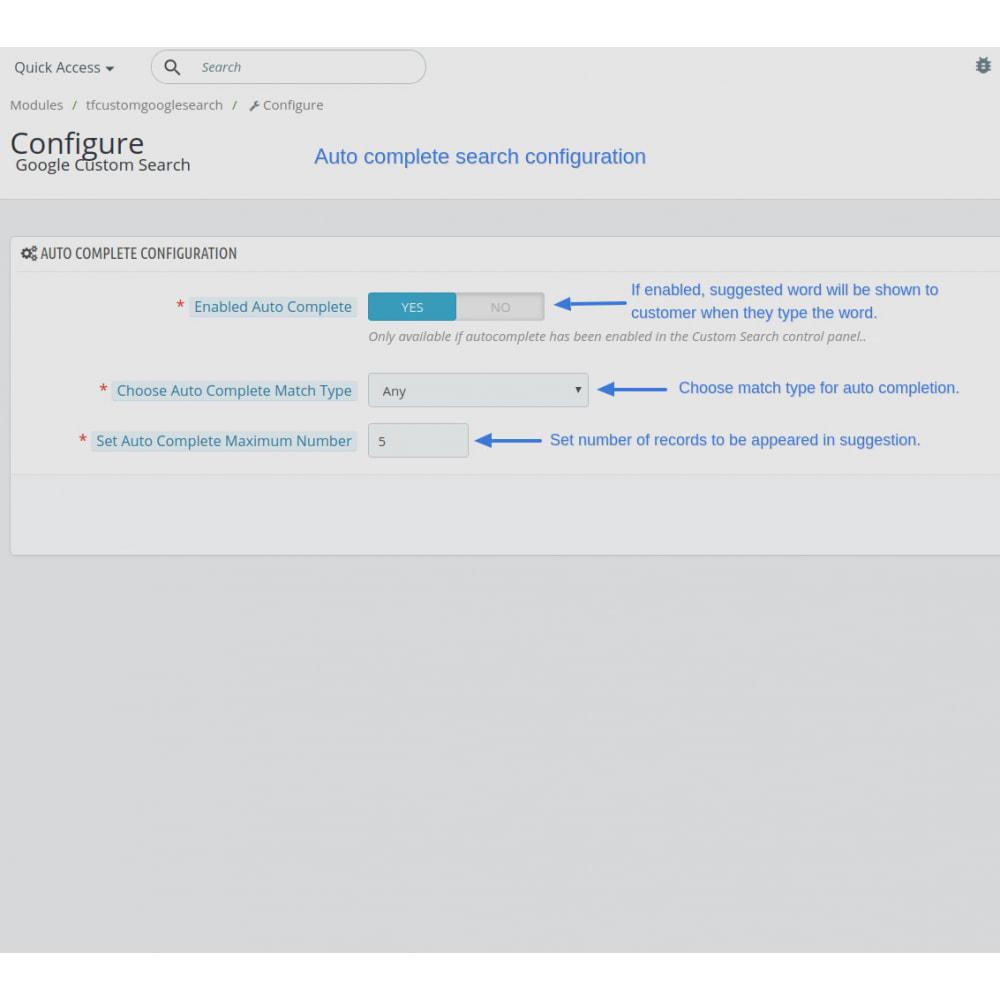 module - SEO (Indicizzazione naturale) - Google Custom Search Engine Pro - 6