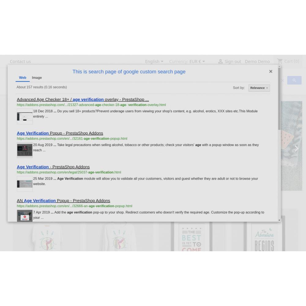 module - SEO (Indicizzazione naturale) - Google Custom Search Engine Pro - 14