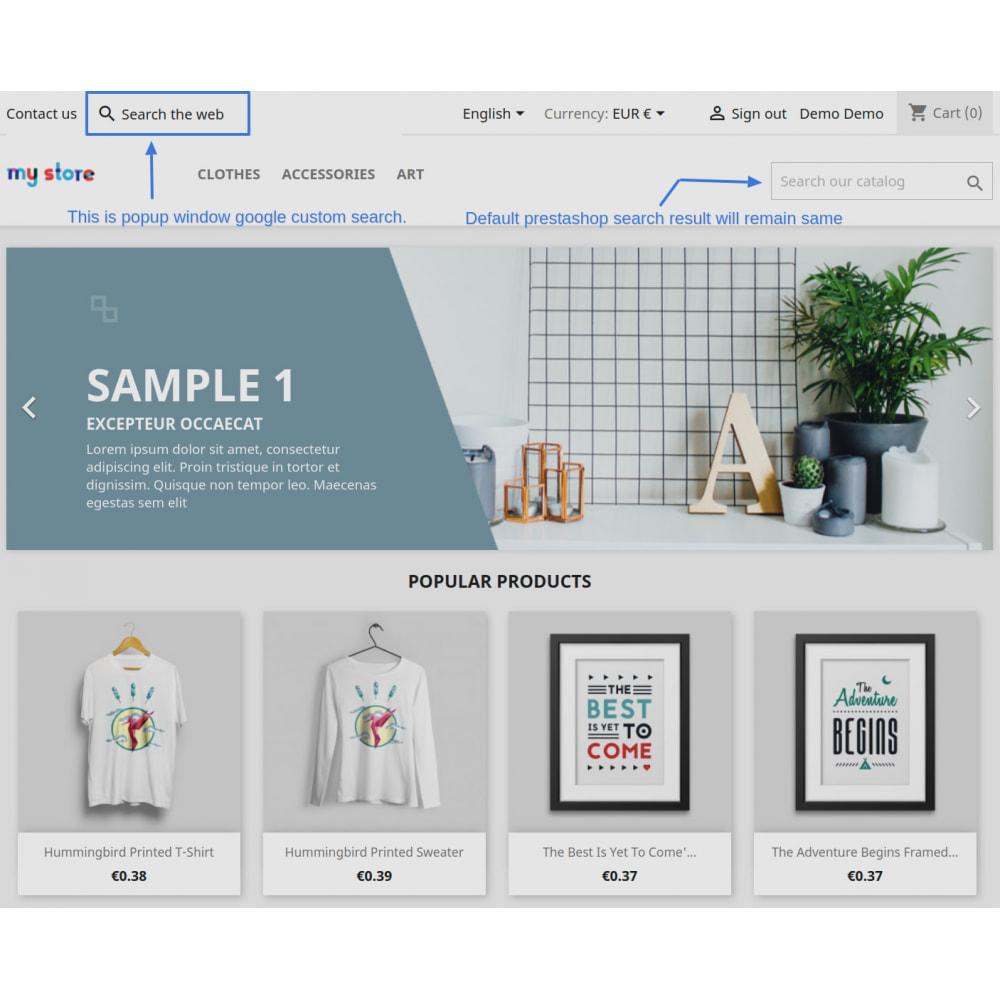 module - SEO (Indicizzazione naturale) - Google Custom Search Engine Pro - 15