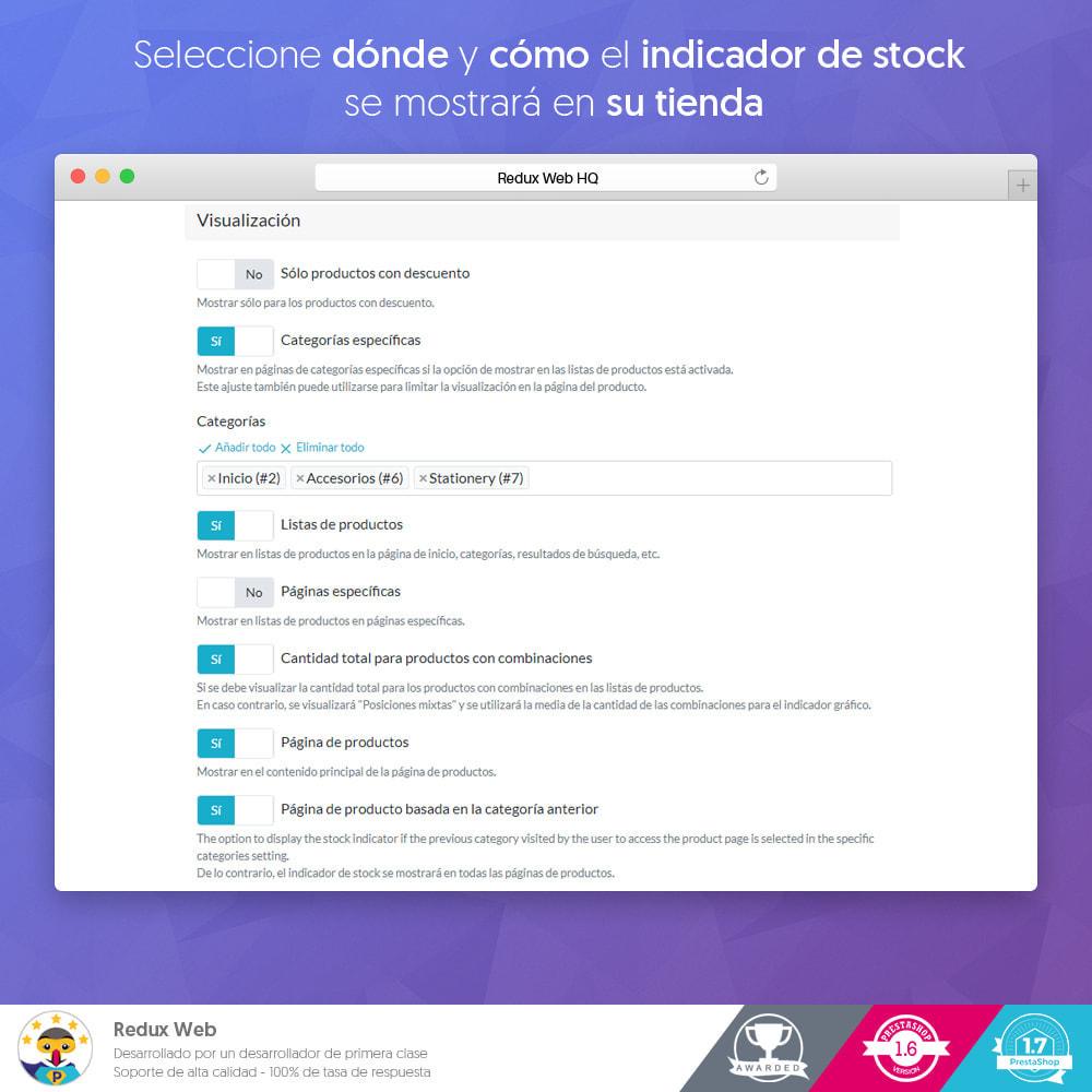 module - Gestión de Stock y de Proveedores - Información del inventario - Compra por impulso - 4