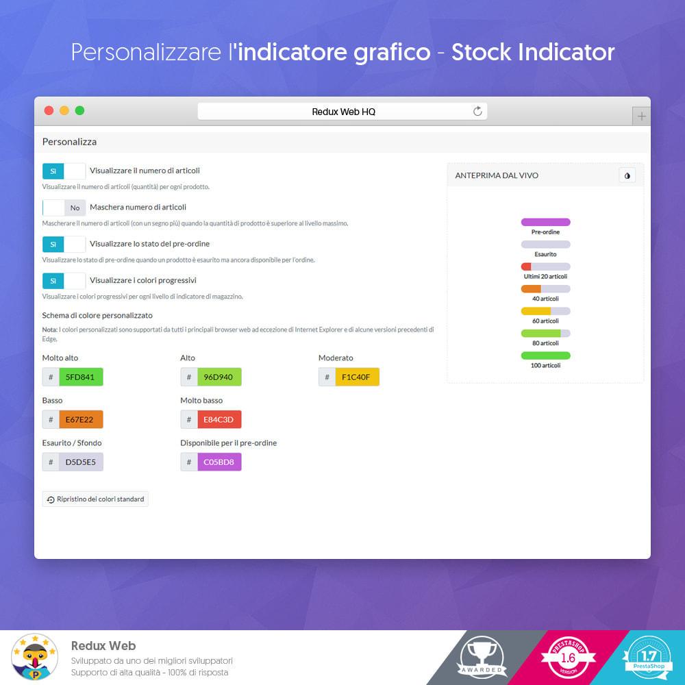 module - Gestione Scorte & Fornitori - Stock Indicator (Dettagli Scorte - acquisto d'impulso) - 7